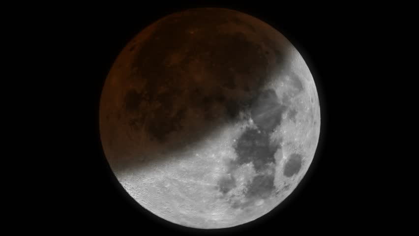 Moon eclipse timelapse animation 4k UHD | Shutterstock HD Video #11931788