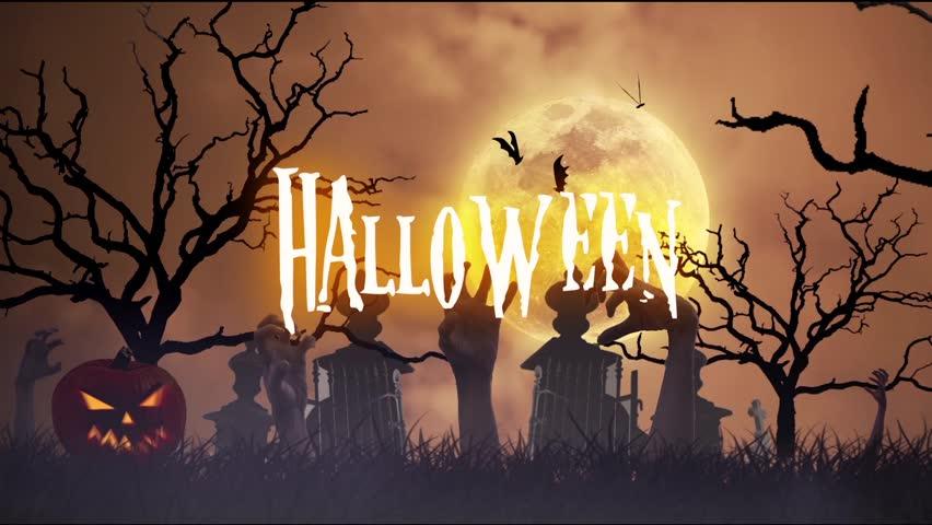 Halloween animation | Shutterstock HD Video #11957138