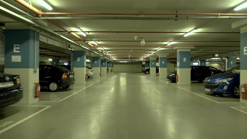 4k pov drive through underground parking garage real time - Parking garages near madison square garden ...