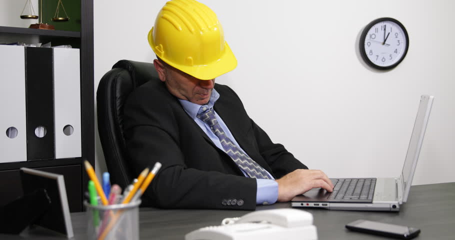 Late Work Program Technical Manager Feel Asleep Laptop Keypad Desk ...