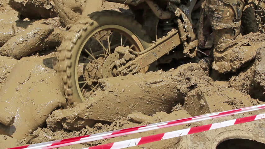 Enduro Bike Stuck in Obstacle Stock Footage Video (100% Royalty-free)  12064328 | Shutterstock