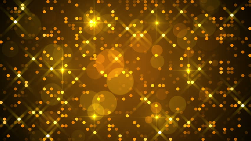 Gold abstract background, particles, loop | Shutterstock HD Video #12083108