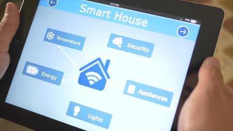 Smart house automation application on tablet controling the different appliences of the building. The market is expected to grow of 11.36% between 2014/2020, and reach $12.81 billion by 2020.