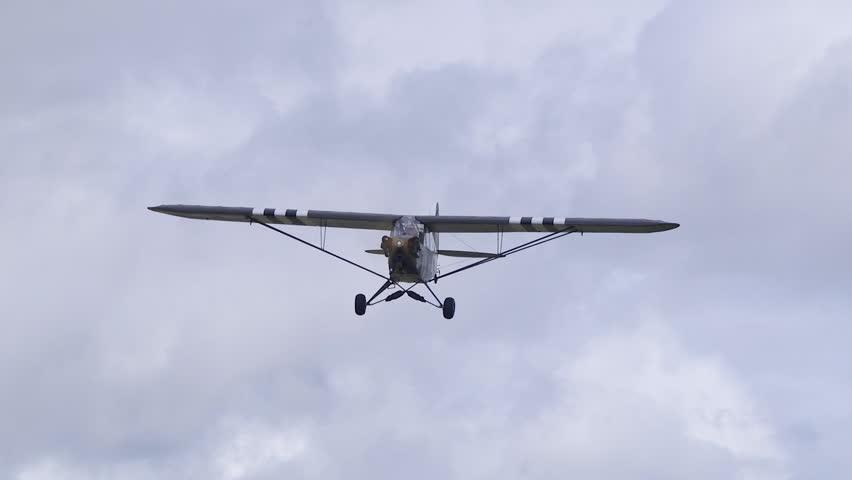 Kjeller Airfield Norway - September Stock Footage Video (100% Royalty-free)  12215888 | Shutterstock