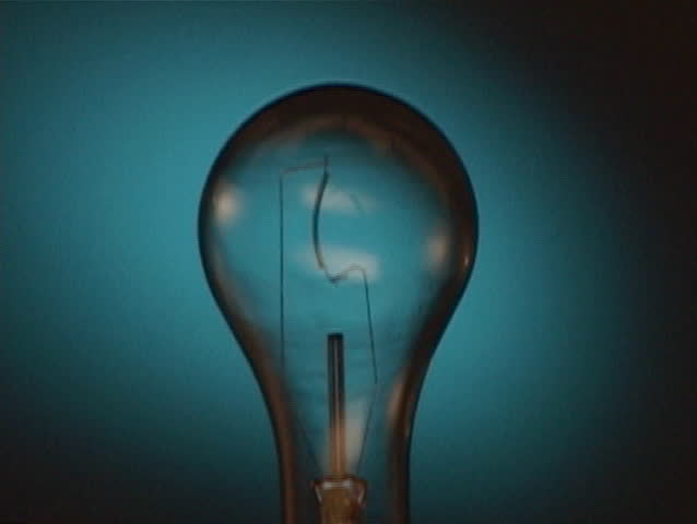 Lightbulb turned on and off | Shutterstock HD Video #12288