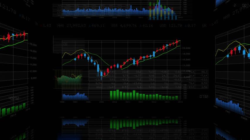 Business Data Graph. | Shutterstock HD Video #12320918