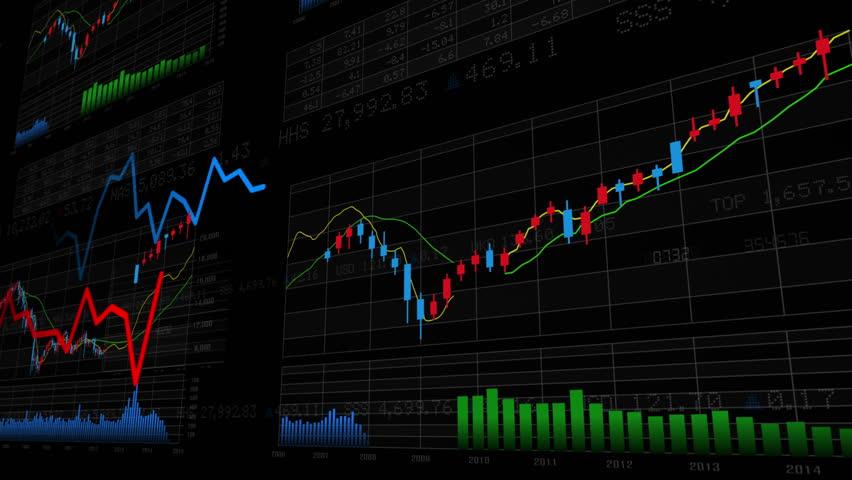 Business Data Graph. | Shutterstock HD Video #12321065