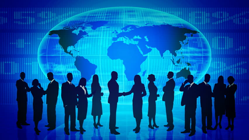 Citizens of the world. Global communication. | Shutterstock HD Video #1238818