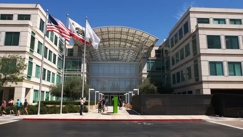 apple cupertino office. CUPERTINO, CA - AUGUST 28, 2015: Close Up View Of Apple Inc Headquarters In Cupertino, California Stock Footage Video 12413798 | Shutterstock Cupertino Office