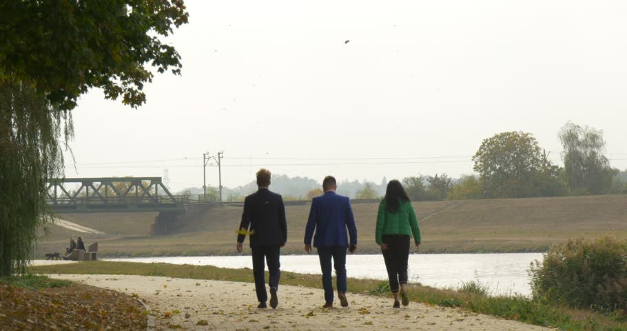 Hasil gambar untuk three people walking together