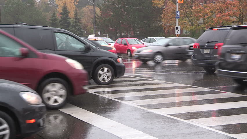 Stock Video Of Toronto, Ontario, Canada October 2015 Traffic   12498698    Shutterstock