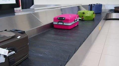 Airport Terminal Baggage Carousel