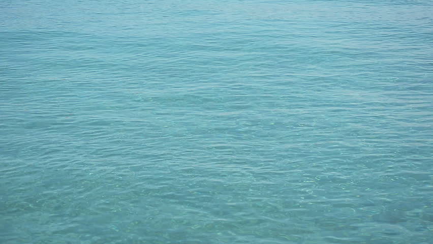 Calm Water Texture blue ocean water texture background stock footage video 24313361