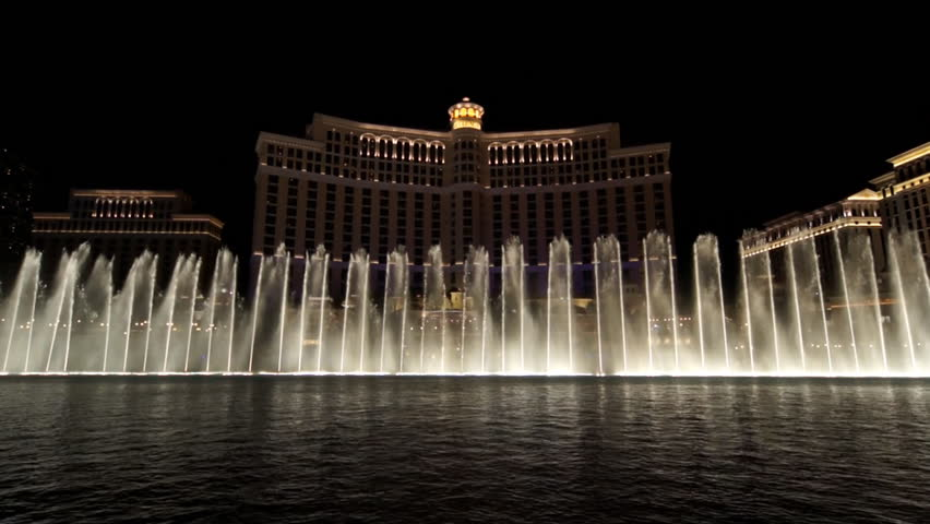 LAS VEGAS - MARCH 26: Fountains of Bellagio March 26, 2011 in Las Vegas, Nevada. It is estimated that the hotel's fountains alone cost $40 million to build.