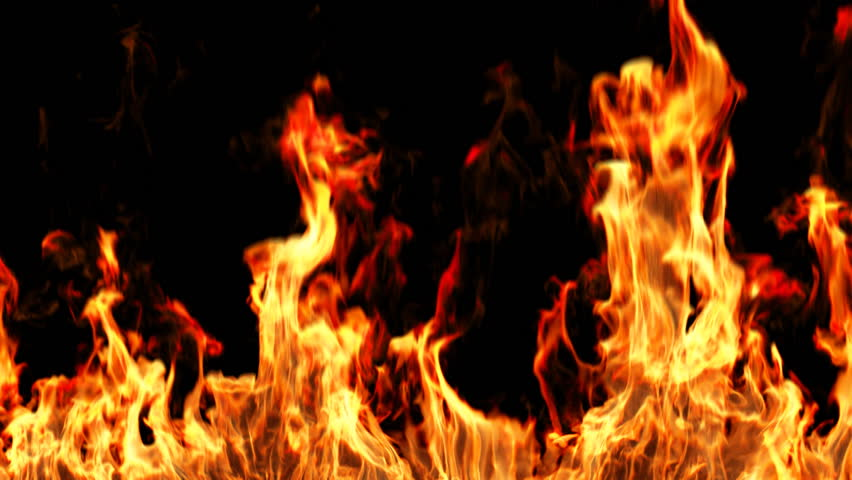 Realistic Fire with alpha, HD, loopable, easy integration into video. | Shutterstock HD Video #1267066
