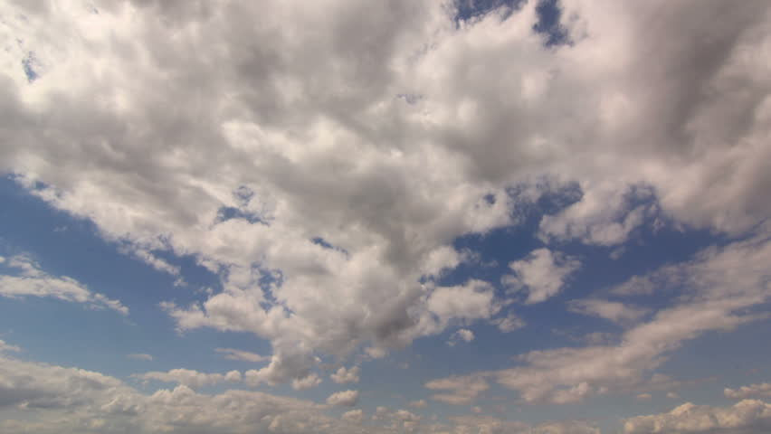 Timelapse Clouds Blue White