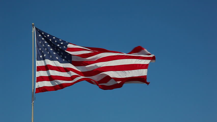 HD of American flag