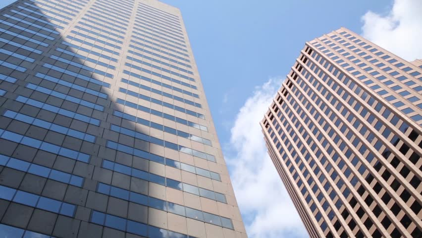 BOSTON - SEP 6, 2014: Skyscrapers and sky. Boston has more than 200 high-rise buildings | Shutterstock HD Video #12741248