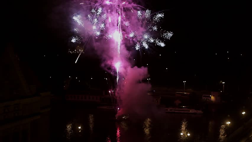 colorful 4th of july fireworks vertical sparkles night fireworks brilliant and