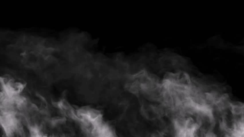 High speed camera shot of an smoke video element, isolated on a black background. Can be pre-matted for your video footage by using the command Frame Blending - Multiply. | Shutterstock HD Video #12791918