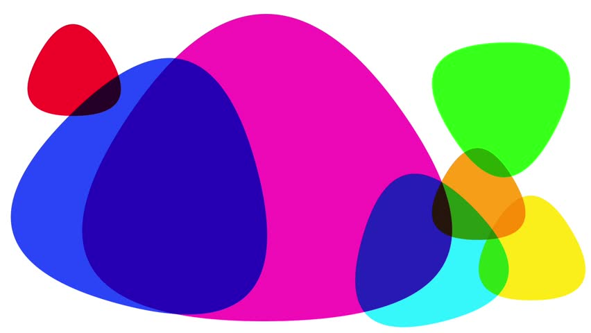 Abstract background with multi color shapes | Shutterstock HD Video #12883538