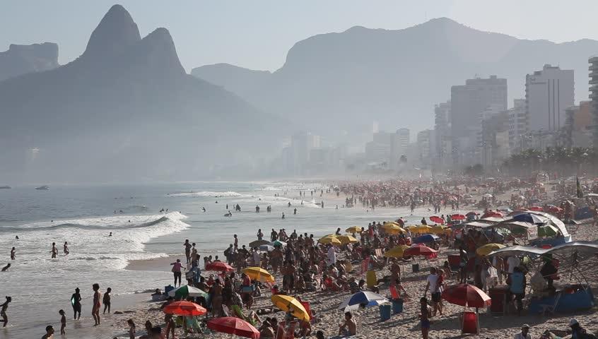 Copacabana Beach, June 21, 2011
