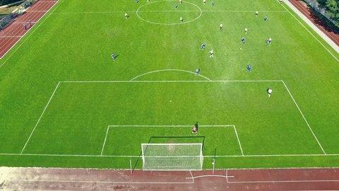 HD - Soccer. Goal