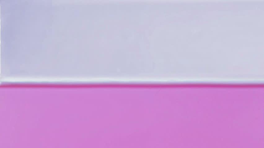 Slow motion droplets splashing in pink water | Shutterstock HD Video #13102307