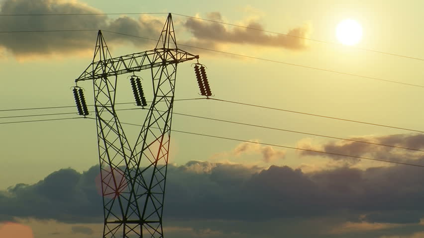 Electricity Lines. Stock Footage Video 733687 | Shutterstock