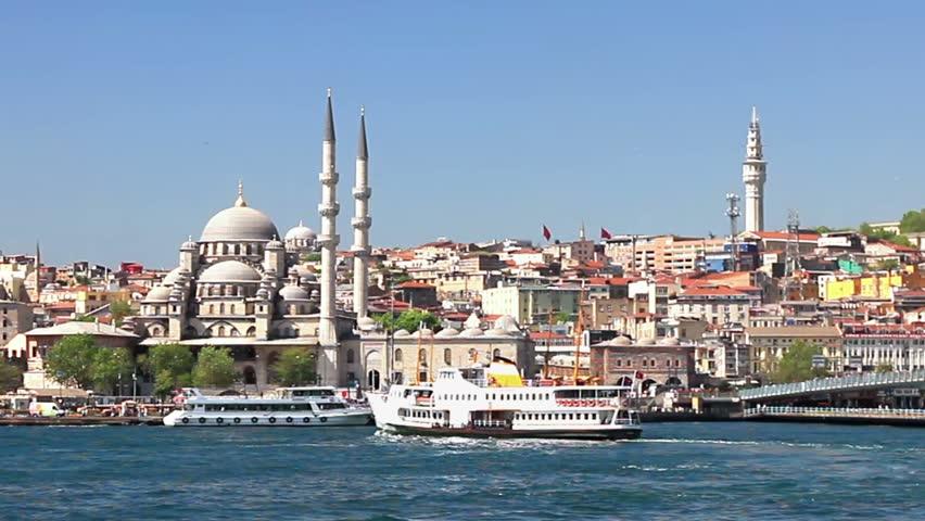 Eminonu Harbor, Istanbul, Turkey