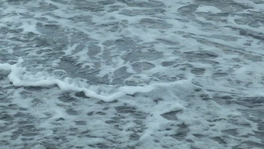 The texture of the waves on the shore | Shutterstock HD Video #13267439