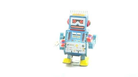 falling robot toys