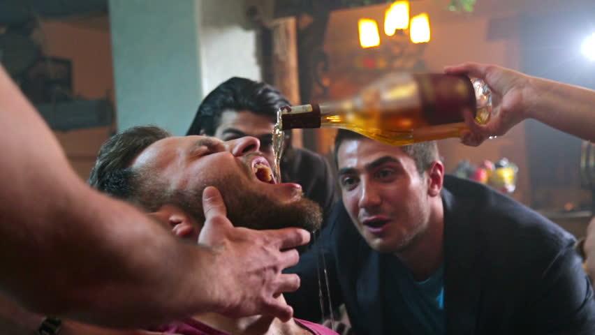 Bachelor Party. Friends.FEW SHOTS !