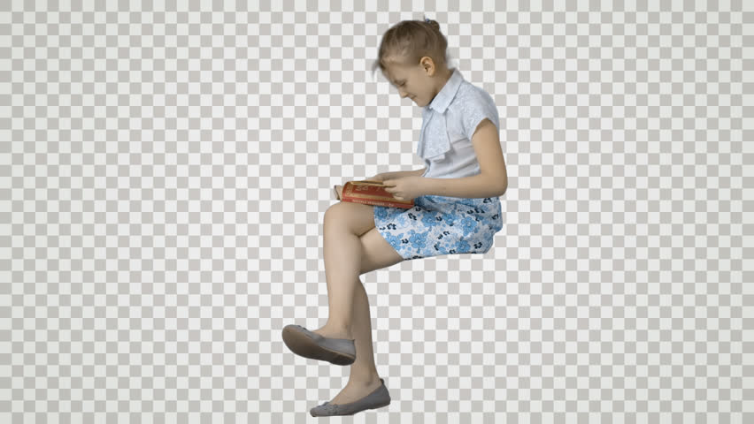 person sitting in chair back view png. Little Girl Sits And Reads A Book. Footage With Alpha Channel. File Format - .mov. Codec PNG+Alpha. Combine These Your Background Or Other Person Sitting In Chair Back View Png