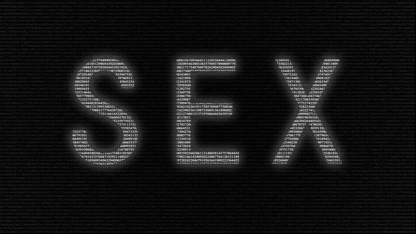 Non-Binary Word Cloud On A Black Background Stock Footage -9087