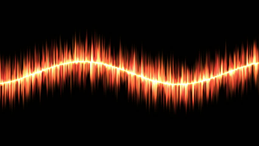 Audio Sound Sine Wave Animation - Loop Red - 4K stock footage clip & Dynamic Light Waves Bright Lines Of Light Reacting To Sound Like ... azcodes.com