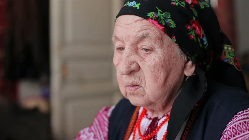 View grandmother in camera | Shutterstock HD Video #13650038