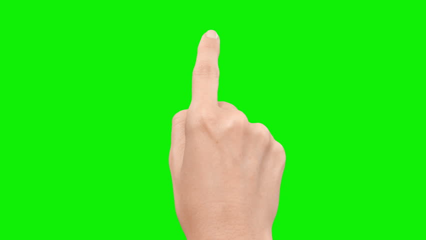 Set of 13 hand touchscreen gestures, showing the uses of computer touchscreen, mobile phone, tablet or trackpad. Female hand. Green screen. Mobile phone. | Shutterstock HD Video #13807286
