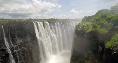 Slow push on Victoria Falls