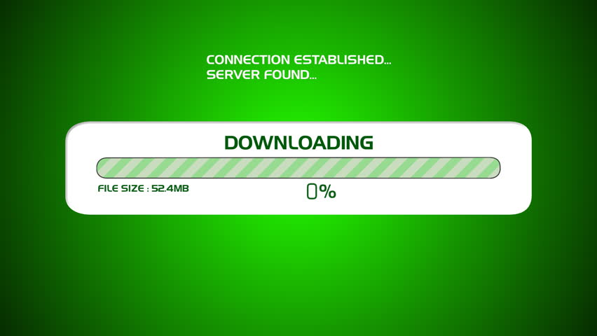 Downloading Computer Screen Graphic Animation  Stock Footage Video (100%  Royalty-free) 1382998 | Shutterstock