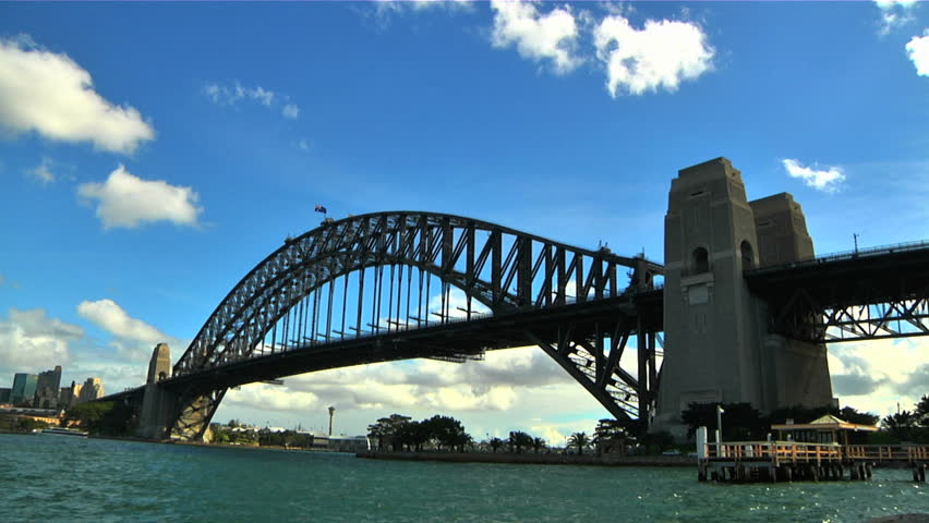 Sydney Harbour Bridge Timelapse