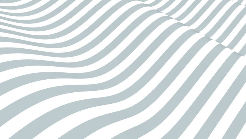 Abstract background with animation waving of colorful stripes. Animation of seamless loop. | Shutterstock HD Video #13879208