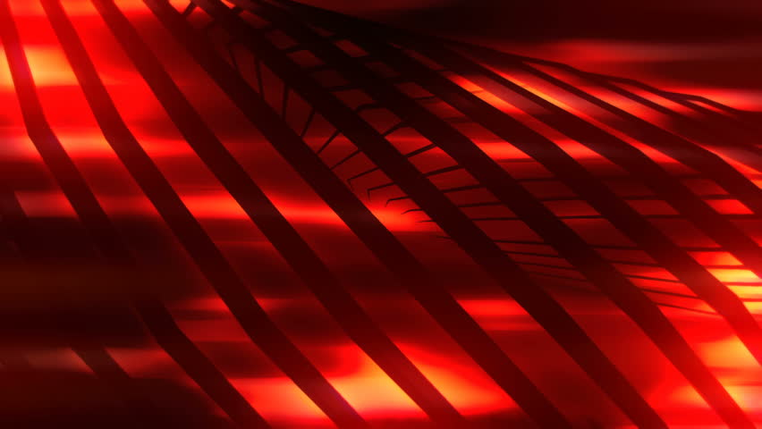 Red light glows behind rotating 3d lines. Red glow black background look. Version 7 | Shutterstock HD Video #13941368