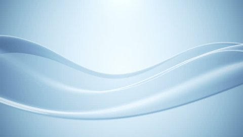 Abstract background with animation waving of beautiful wave. Animation of seamless loop.