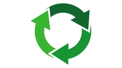 Recycle icon design, Video Animation