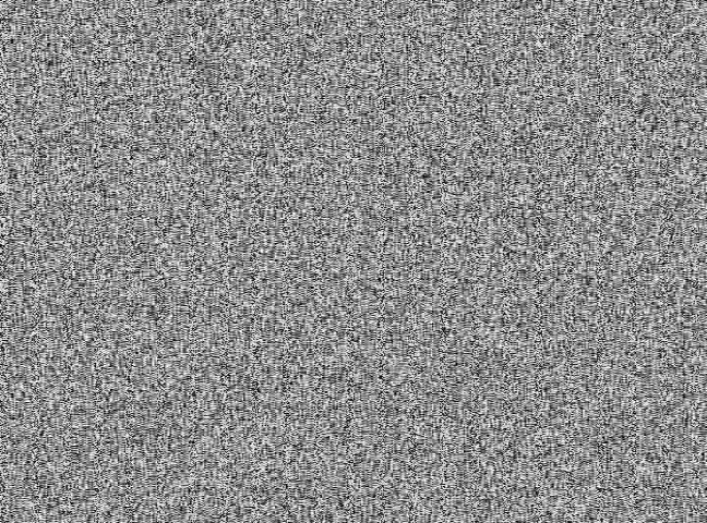 TV Static with stereo white noise
