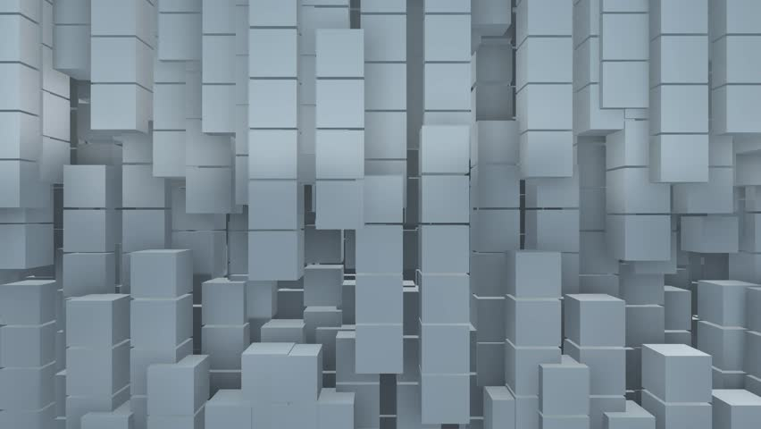 Blocks and cubes abstract motion background | Shutterstock HD Video #14120018