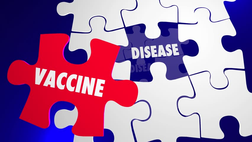 Vaccine Vs Disease Vaccination Immune Health Care Puzzle | Shutterstock HD Video #14133218