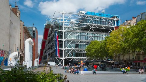 PARIS - MAY 2015: National Center of Art and Culture Georges Pompidou