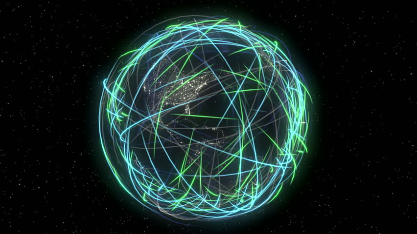 Internet Global Data Cyberspace Web Communication. 